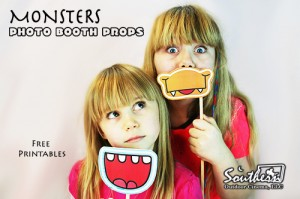 Photo Props - Monsters for Movie Night