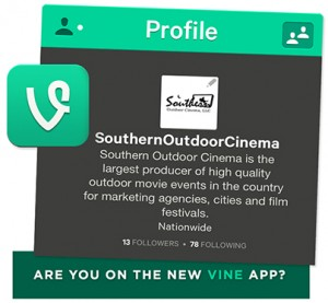 Southern Outdoor Cinema on Vine