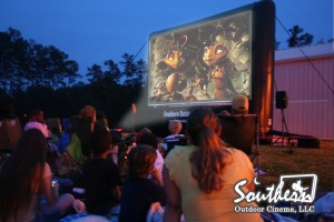 Outdoor Movie Event at School
