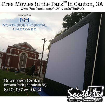 Movies in the Park - Canton GA