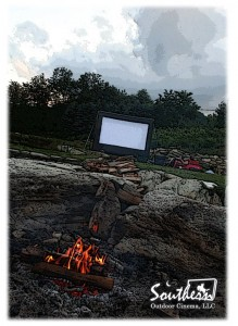 outdoor movie camping