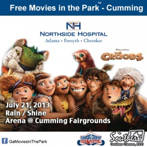 Movies in the Park - Cumming