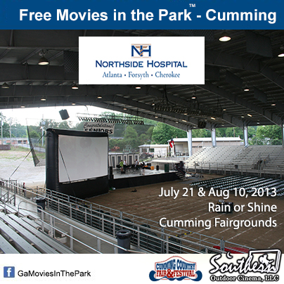 Movies in the Park - Cumming GA