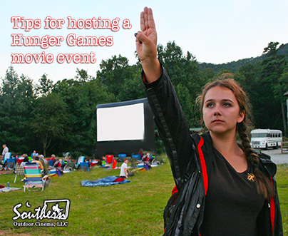 Tips for hosting a hunger games movie event