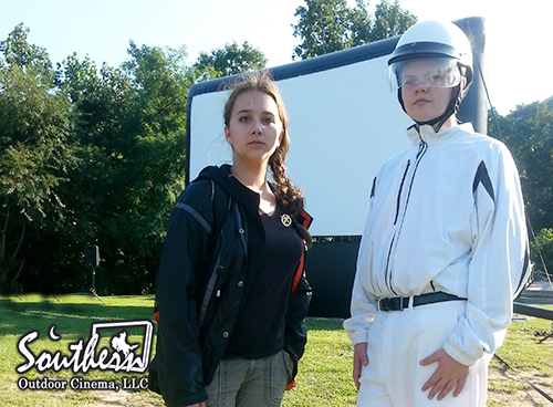 Katniss and Peace Keeper Costume