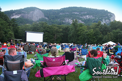 Movie in the Meadow - North Carolina