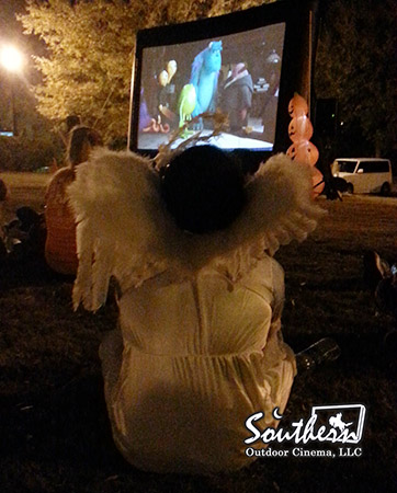 Georgia Halloween Outdoor Movie Event