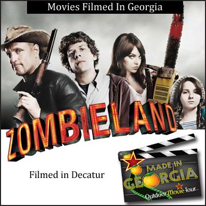 Zombieland Filmed In Georgia