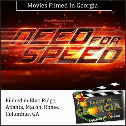 Filmed in Georgia: Need for Speed