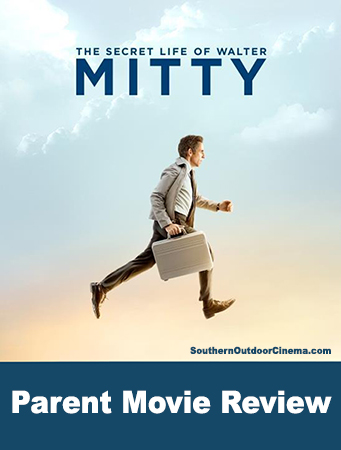 Parent Movie Review - The Secret Life of Walter Mitty by Southern Outdoor Cinema