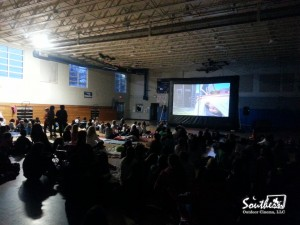 Inflatable movie screen rental for Schools in Atlanta