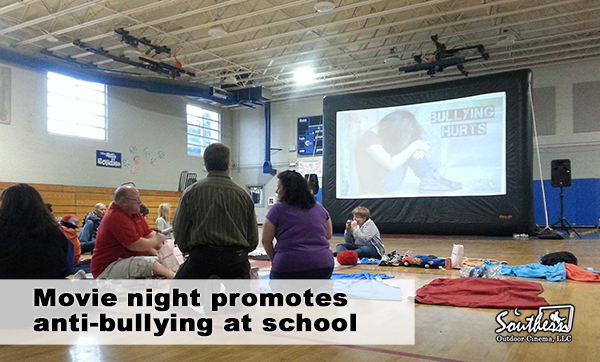 Movie night teaches about anti-bullying in a fun way