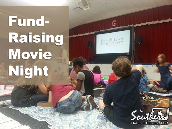 Fund-raising movie night at school