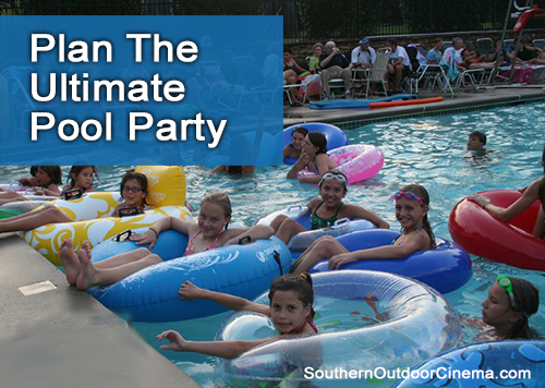 Plan The Ultimate Pool Party - Host a Dive-in Movie