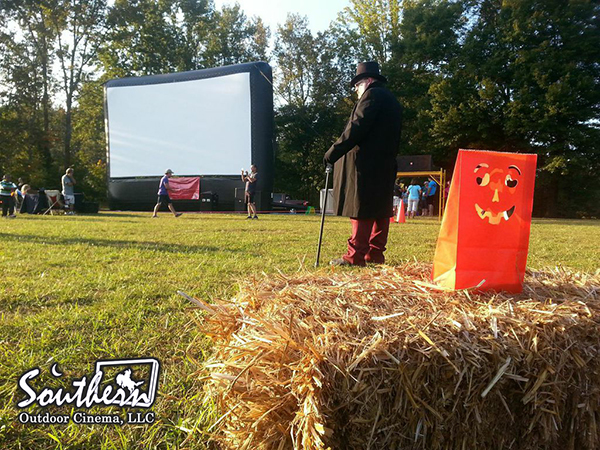 Fall-o-ween and an outdoor movie in Kennesaw