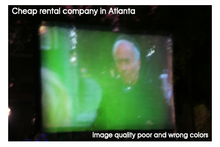$199 outdoor movie Atlanta